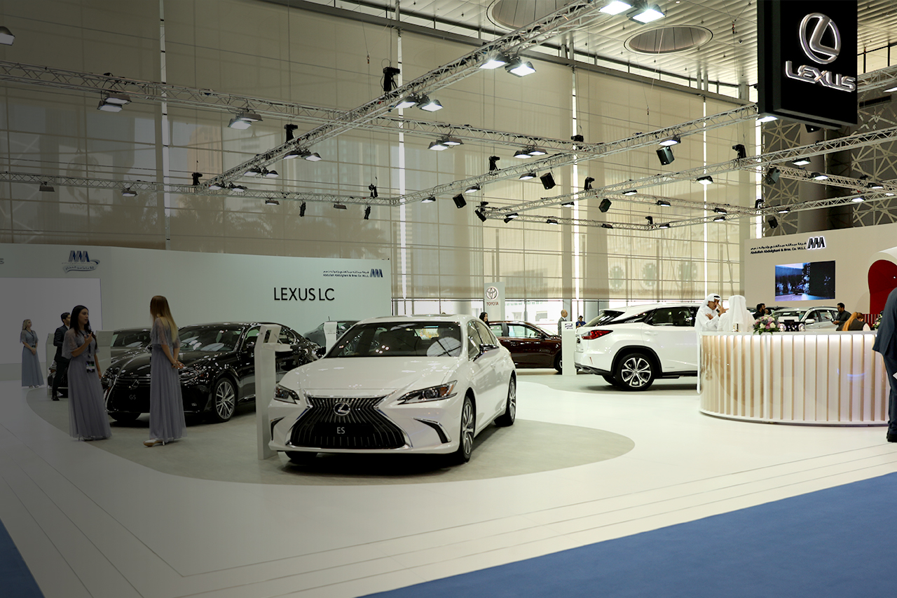 Lexus at Qatar Motor Show 2018