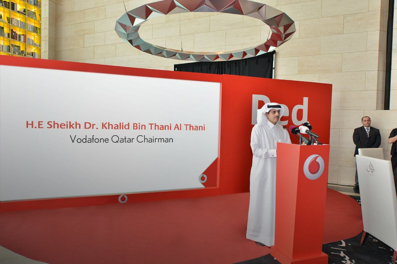 VODAFONE QATAR  RED LAUNCH